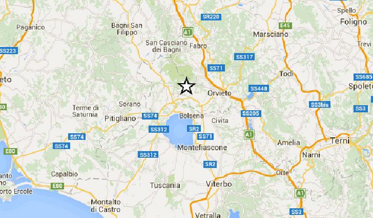 Terremoto in Umbria, a Terni di magnitudo 4.1