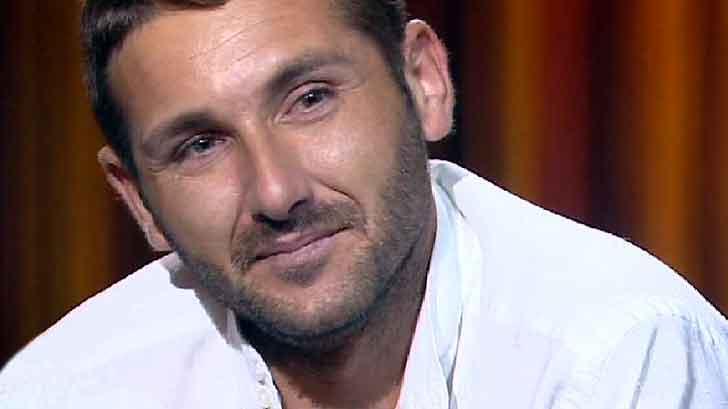 Salvatore Parolisi durante una nota trasmissione televisiva
